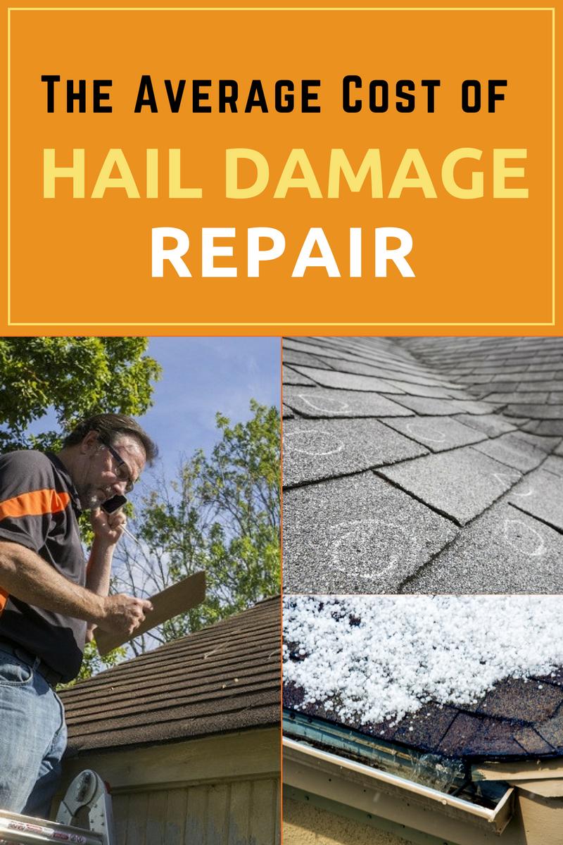 The Average Cost Of Hail Damage Repair Hail Storm Home Repair Snow Melting Mats