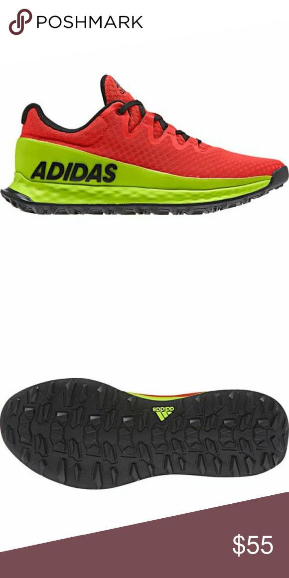 aec1e9566f7c6 adidas Boys  Vigor Bounce J Trail Shoe CQ1457 You re not the type to limit  your adventures to smooth