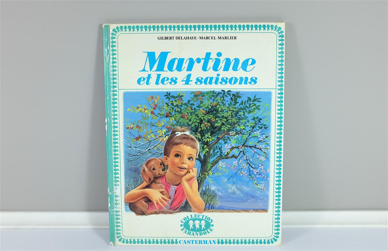 Martine Et Les 4 Saisons 1962 Livre Vintage Francais Pour