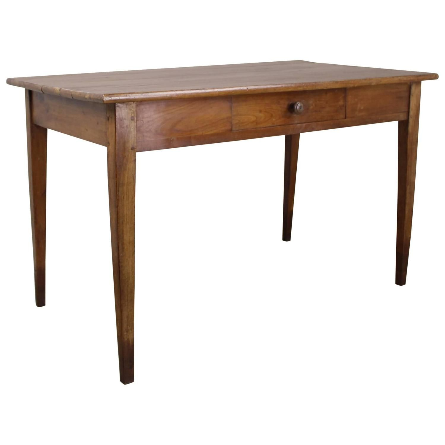 Beautifully Grained Antique Cherry Writing Table With Images Writing Table Table