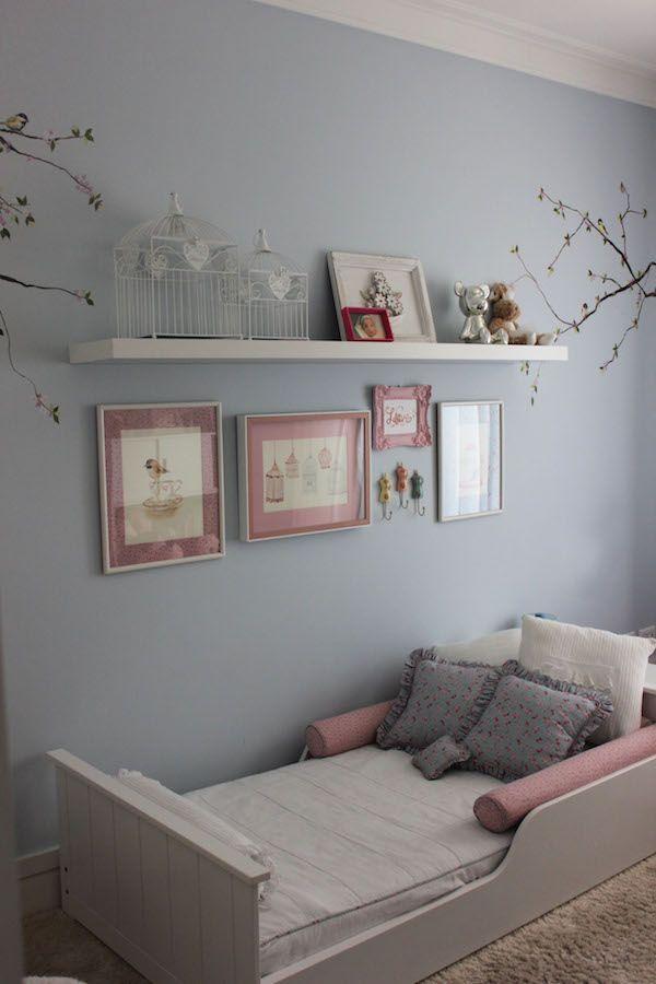 Montessori Schlafzimmer · Kleine Vögel · Get The Look: Quarto De Menina Com  Passarinhos