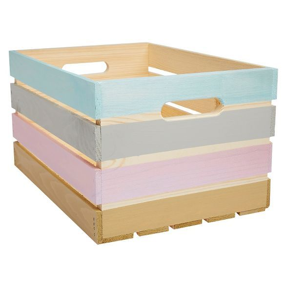 Photo of Wooden Crate – Pine Hand Made Modern