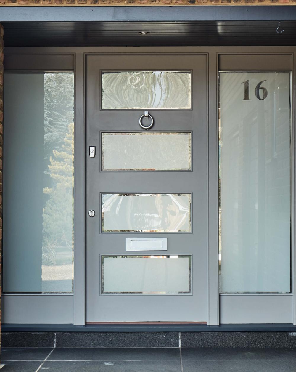 Modern Glass Front Doors Uk Google Search Grey Front Doors Modern Exterior Doors Contemporary Front Doors