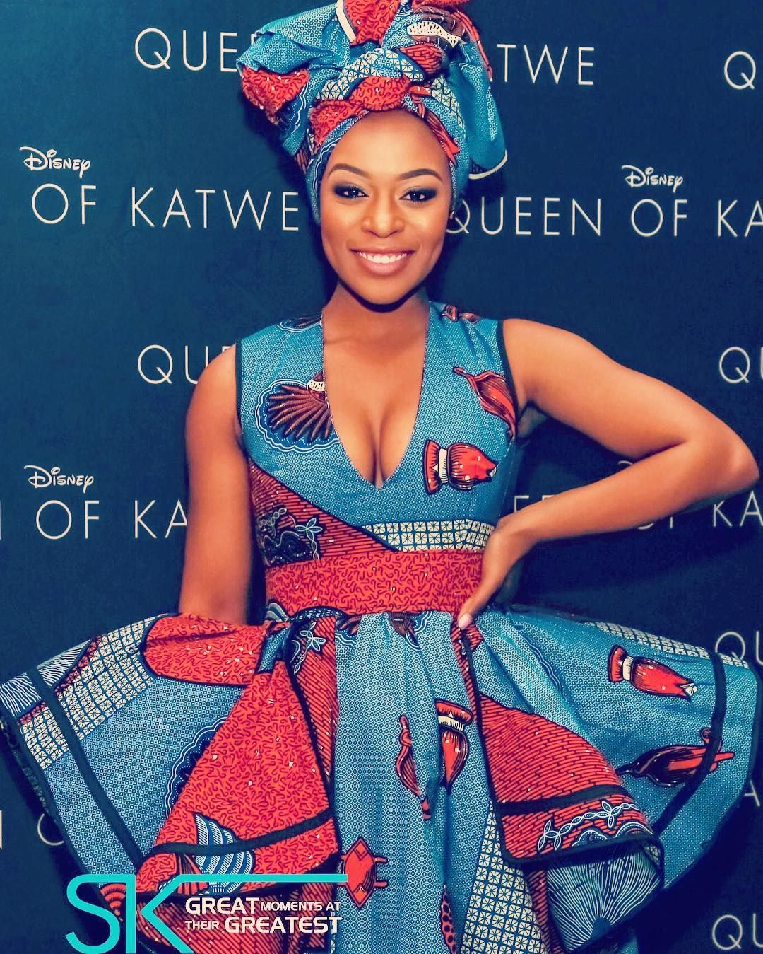 Movie Premiere Nomzamo Mbatha At The Queen Of Katwe South Africa Movie Premiere African Fashion Dresses African Wedding Attire African Inspired Fashion