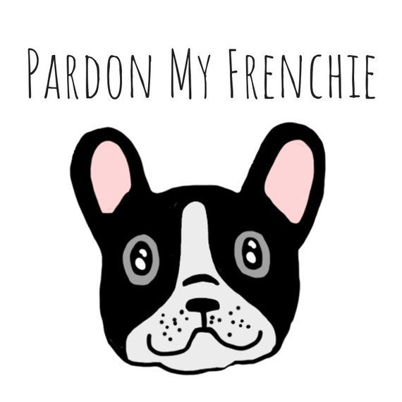 Pardon My Frenchie Frenchie Dog Pun Card Puns Play On Words