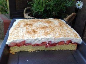 Erdbeer- Fanta- Kuchen - Aus meinem Kuchen und Tortenblog