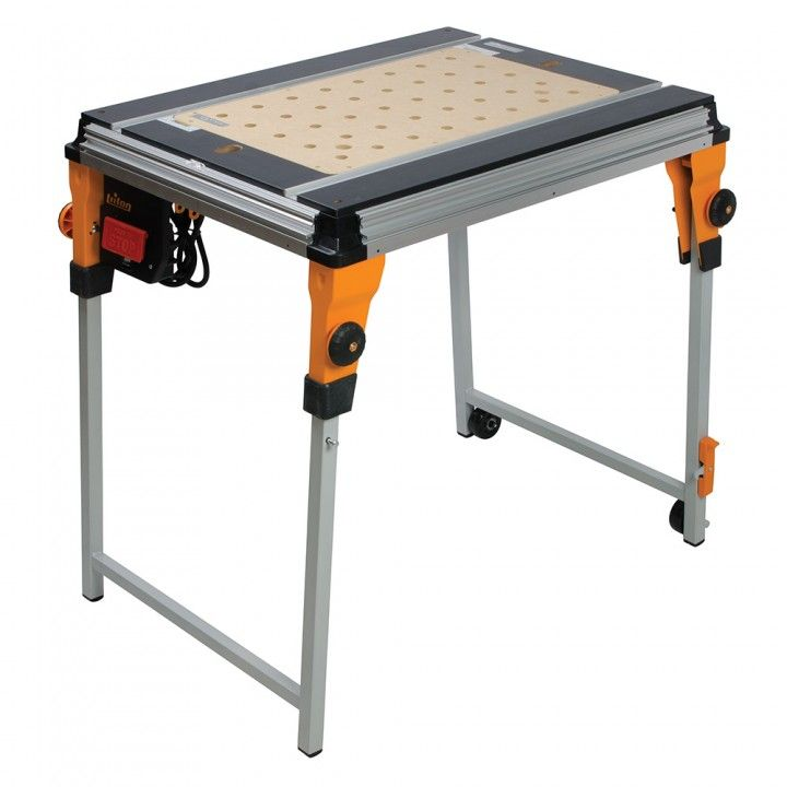 Triton twx7 workcentre router table triton workcentre portable modular work station accepts optional table inserts such as a router table and contractor table saw greentooth Gallery