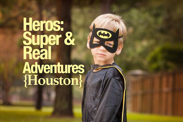 Summer fun in Houston! Local places and events for little heroes! #superhero #houstontx #summer #firefighters #batman #superman