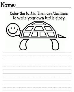 Free Yertle The Turtle Printables Seuss Classroom 1st Grade Writing Teacher Printable
