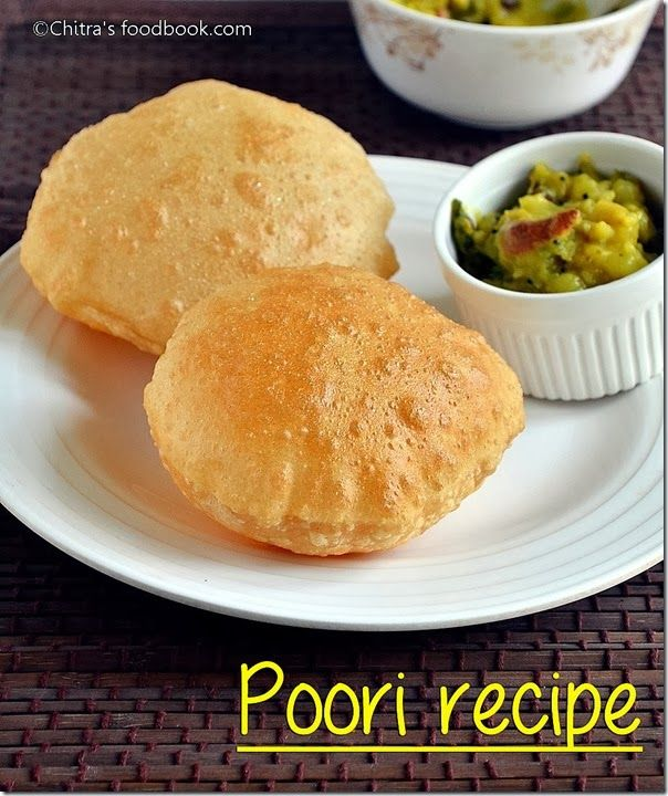 Chitras food book poori recipe how to make puffy poori chitras food book poori recipe how to make puffy poori breakfast forumfinder Images