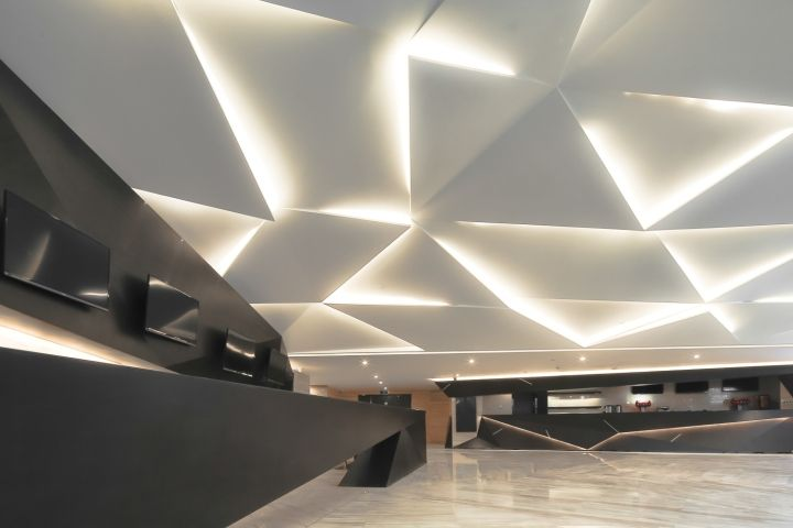 Emperor UA Cinema by Oft Interiors, Foshan  China  Ceiling LightingCeiling  Light DesignInterior ...