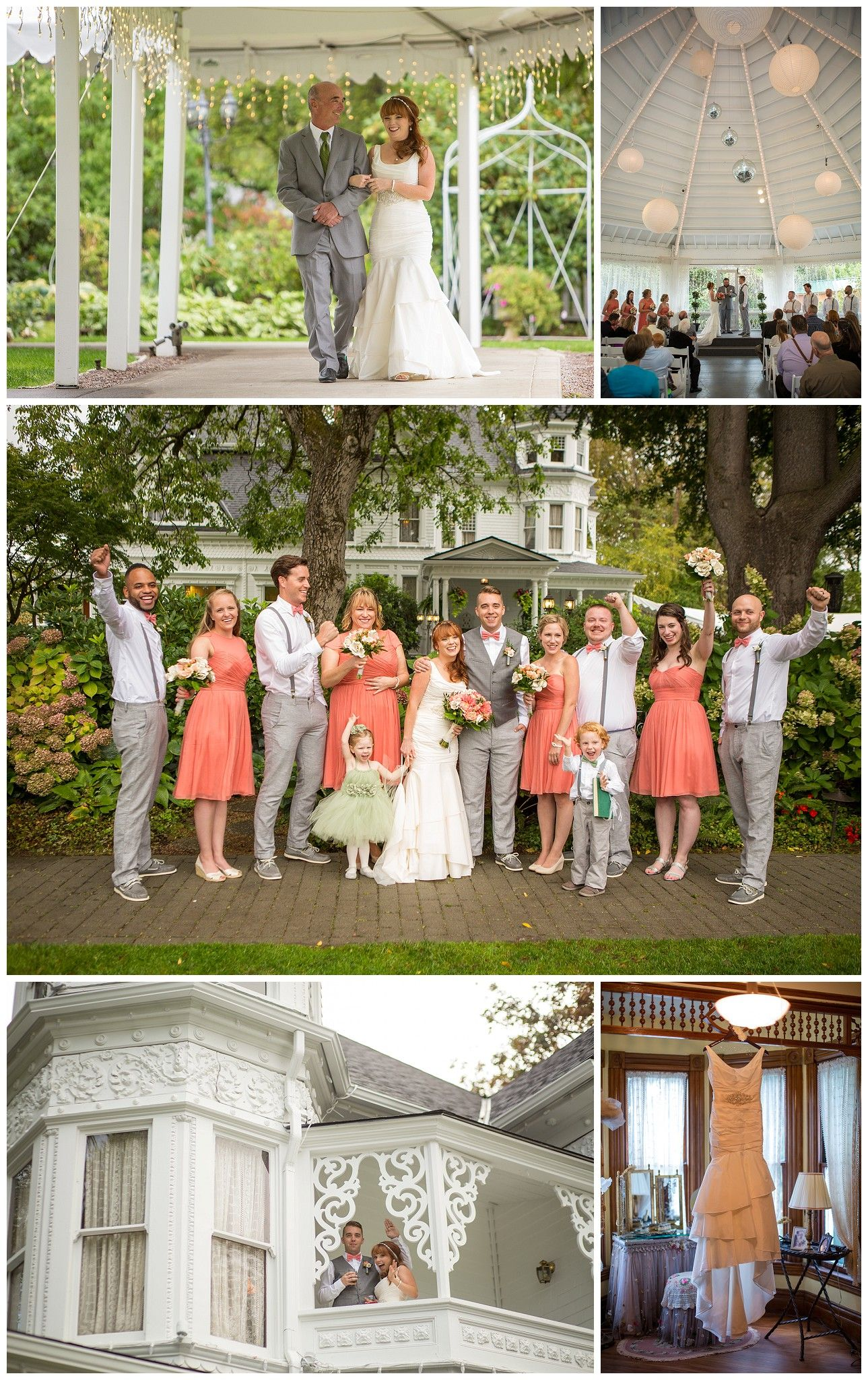 Historic Victorian Estate Wedding At The Belle In Portland Oregon