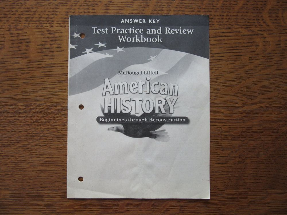 Americans Mcdougal Answer Key  Excellent Americans Mcdougal