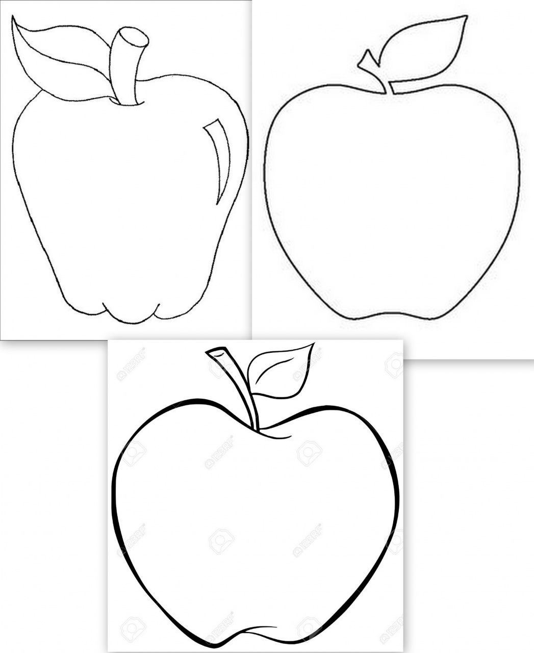 dessins grosses pommes | kreatív | Pinterest | Dibujar y Fruta