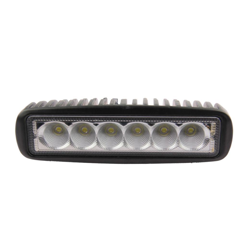 1800 LM Mini 6 Inch 18W 6 x 3W Car CREE LED Light Bar as Work Spot