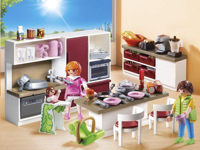Image Pour Playmobil City Life 9269 Cuisine Amenagee A Partir De