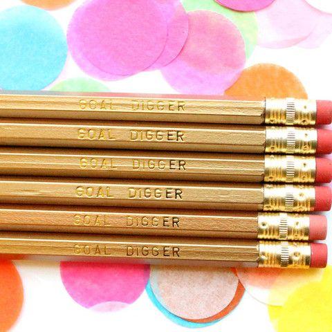 TAYLOR ELLIOTT | Goal Digger Pencils