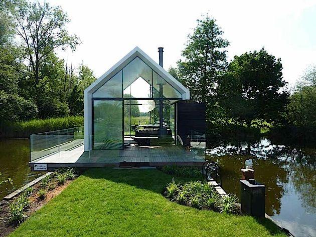 Architektur Ein kleines Inselhaus in Holland KlonBlog