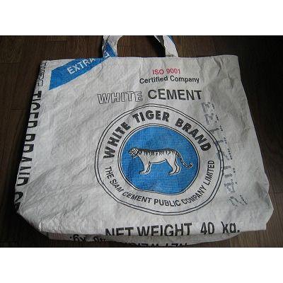 セメント袋のリサイクルバッグ