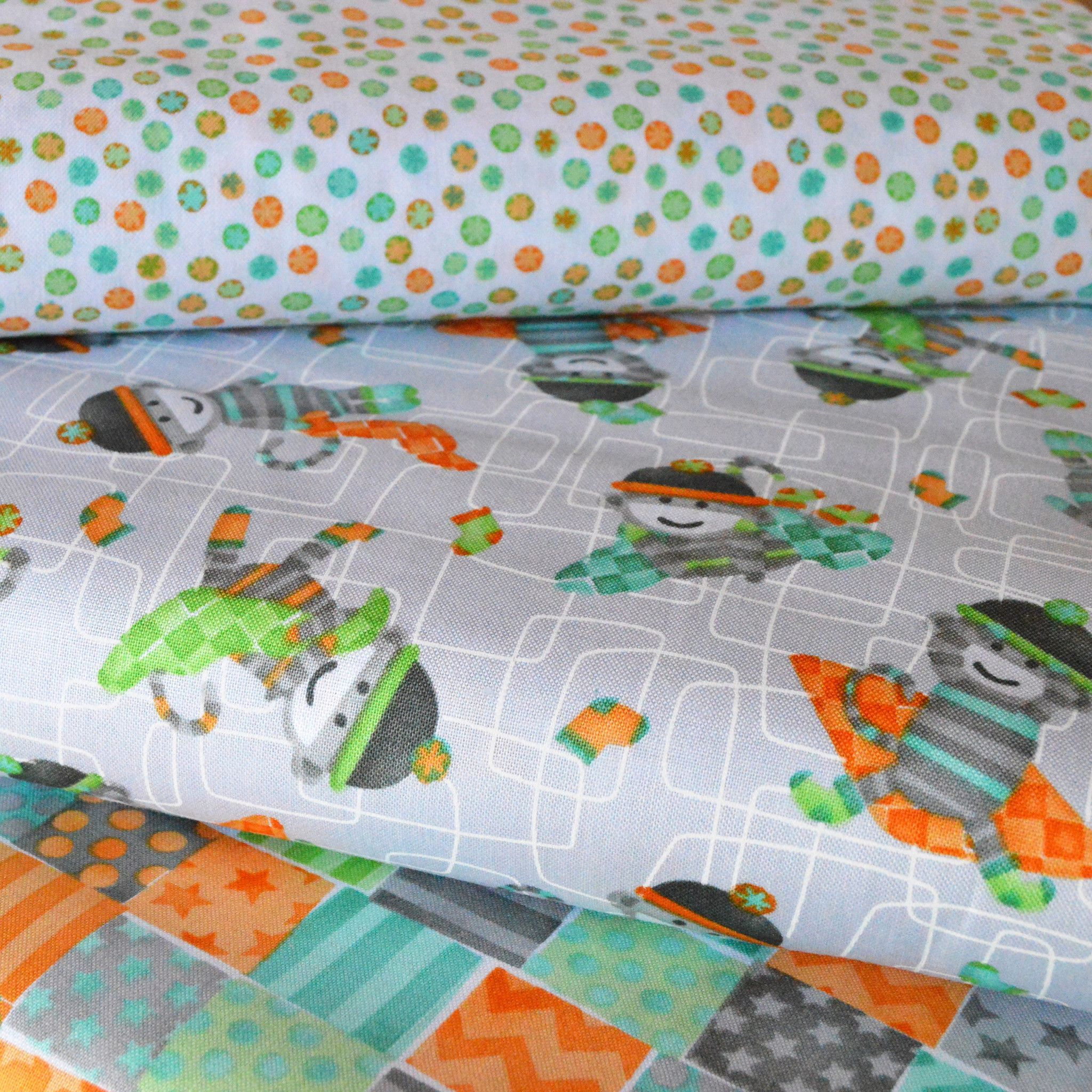 Monkey Business 3 Fabric Bundle at Twisted Tree Fabric