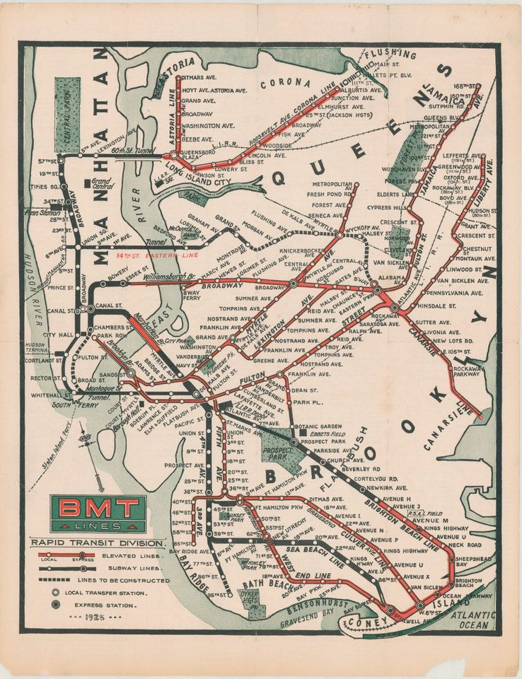 Explore A Bounty NYC Maps At This Transit Museum Exhibit