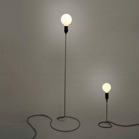 Minimalist cord floor lamp #floor-light #wire   decor   Pinterest ...