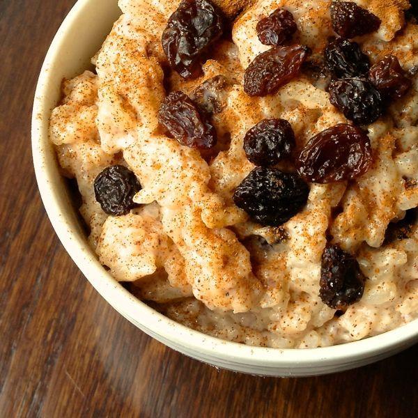 Creamy Rice Pudding with Cinnamon and Raisins - The Lemon Bowl