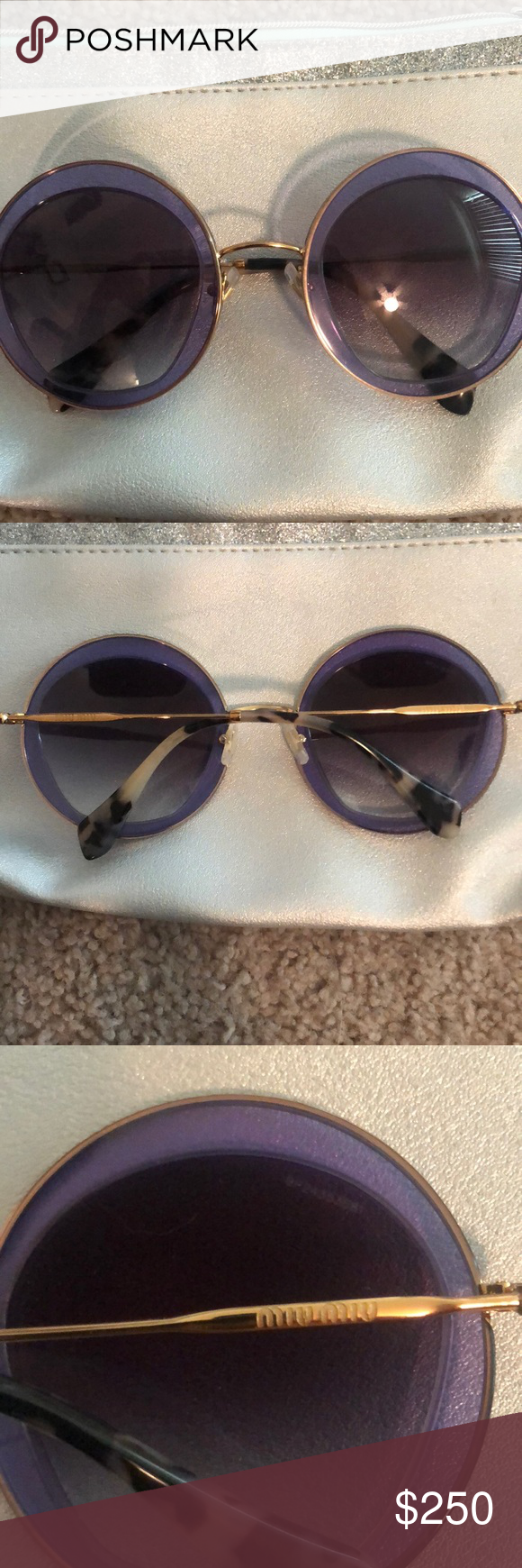 64740733e85 Spotted while shopping on Poshmark  MIU MIU sunglasses NWOT!  poshmark   fashion  shopping  style  Miu Miu  Accessories