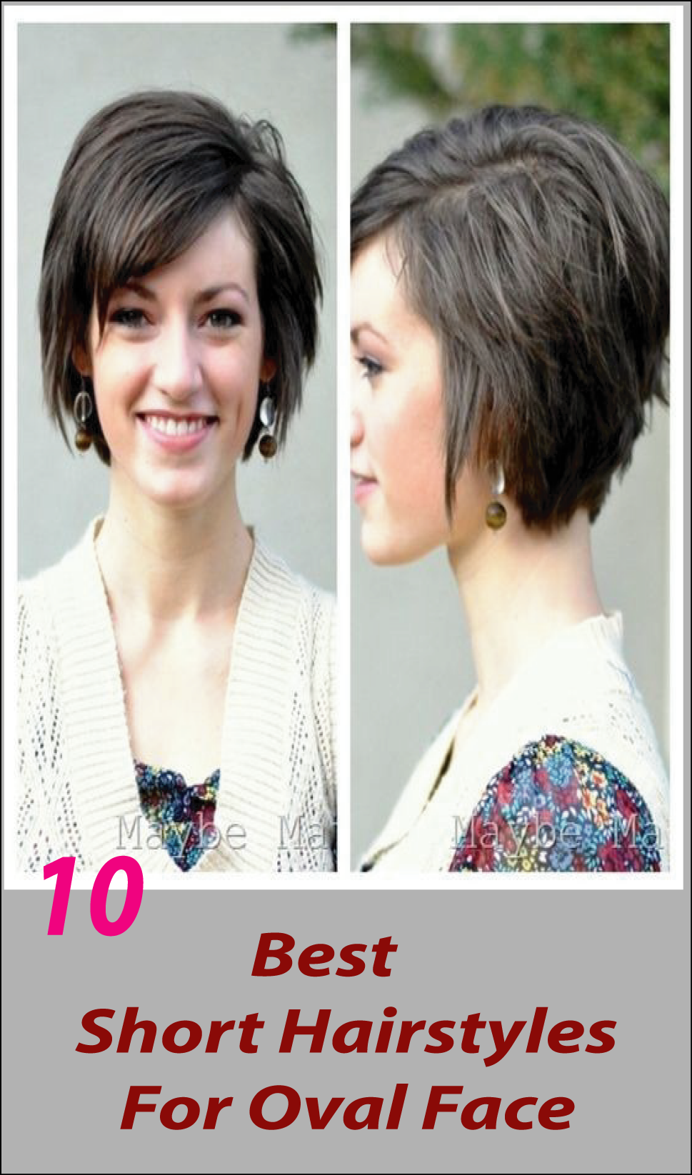 Looking for short hairstyles for oval face? Wondering how to find