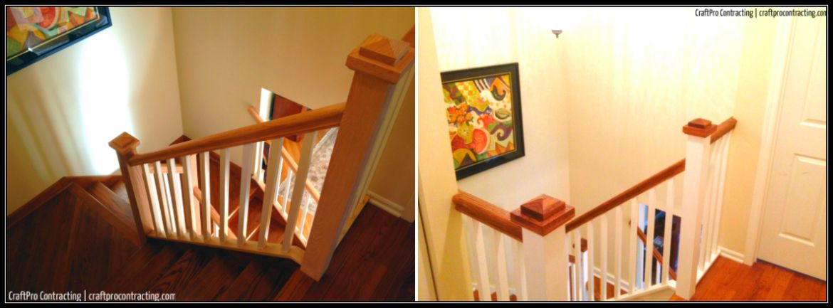 Best New Staircase In Madison Nj Painted Stained Box Newel 400 x 300