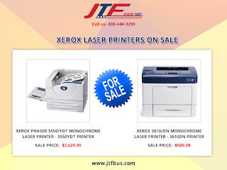 Jtfbusinesssystems Is Offering Xerox Laser Printers On Sale Now