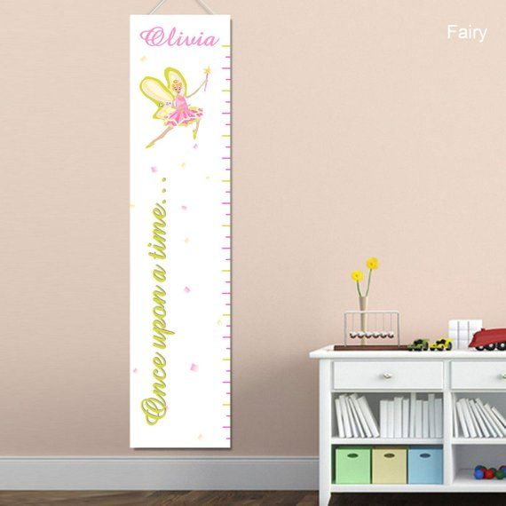 Fairy And Circus Princess Growth Charts For Girls Childrens
