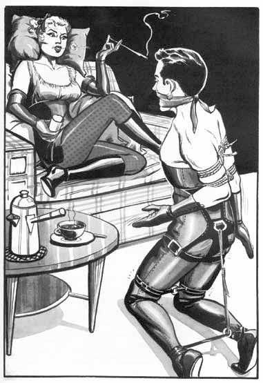 Sadism female domination leather uk-9680
