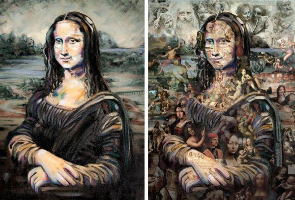 Rereading Mona Lisa by Alopra Studio by Alopra Estúdio , via Behance