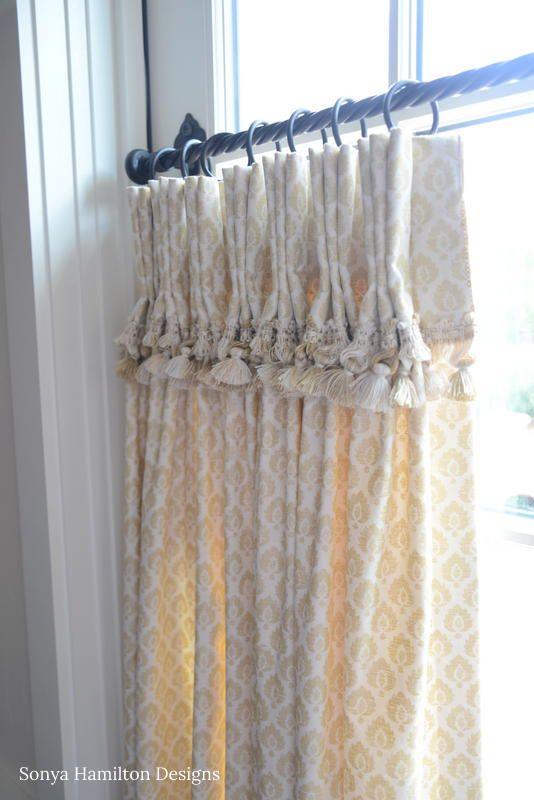 Best of Tasseled & Pleated Cafe Curtain Plan - Fresh curtain treatments