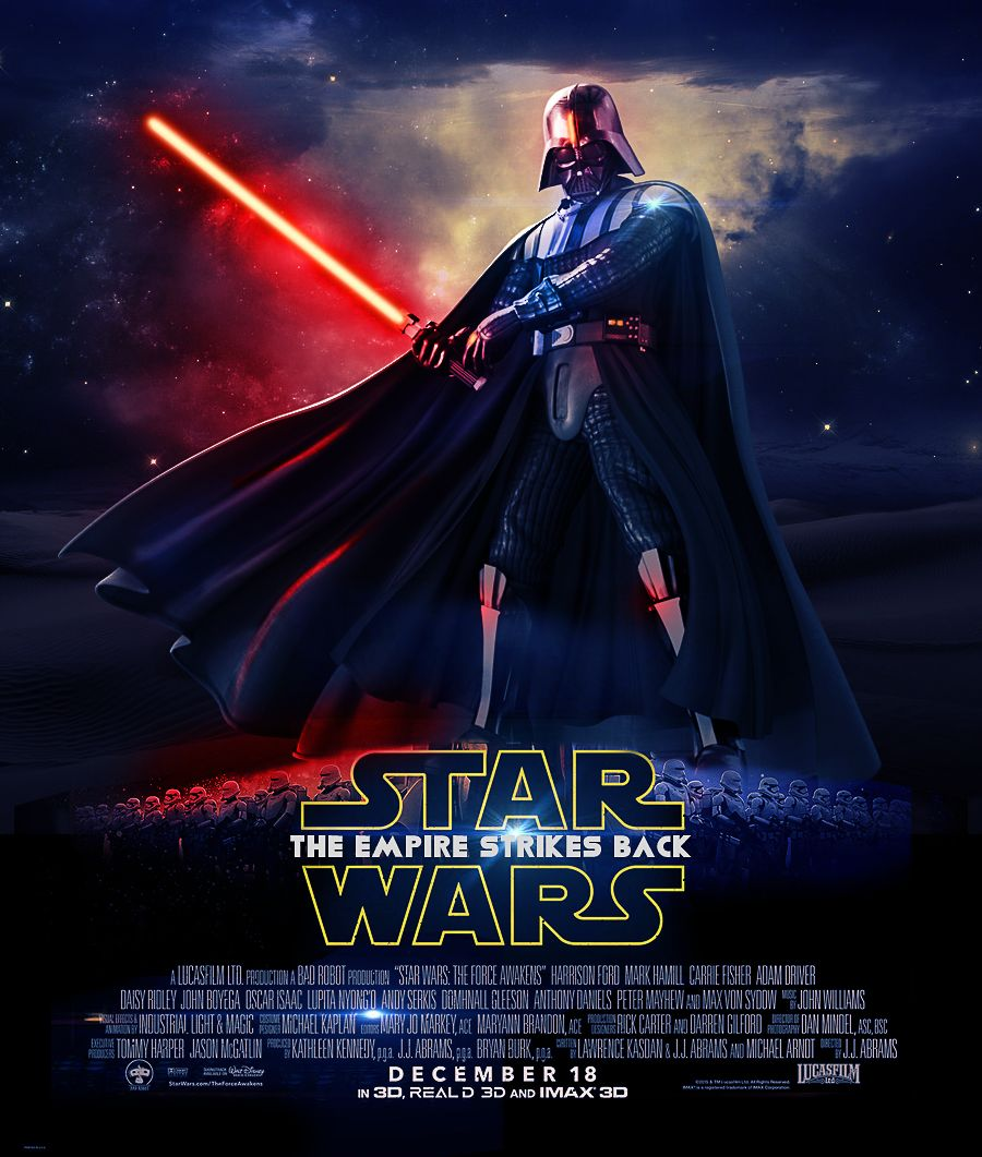 3d poster design tutorial - Star Wars Is An American Sci Fi Film Series Created By George Lucas The First Film In The Series Star Wars Was Later Subtitled Episode Iv A New