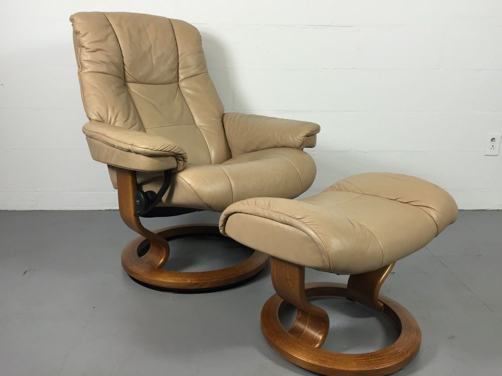 Brilliant Ekornes Stressless Recliner Chair In Paloma Sand Leather Pdpeps Interior Chair Design Pdpepsorg