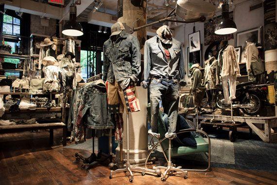Denim  Supply Ralph Lauren Store in NYC