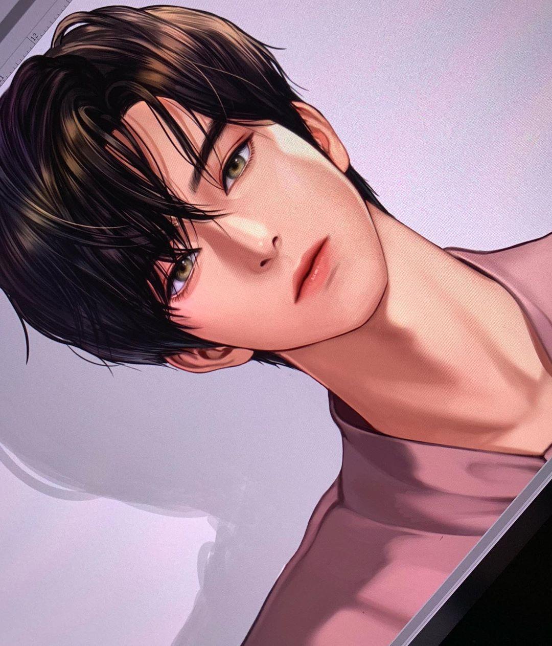 Kpop Hairstyles Female 2019: Korean Anime Boy Kpop