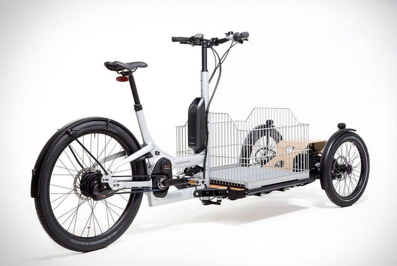 Heisenberg Cd1 Cargo E Trike Men S Gear Bike Cargo Bike Trike