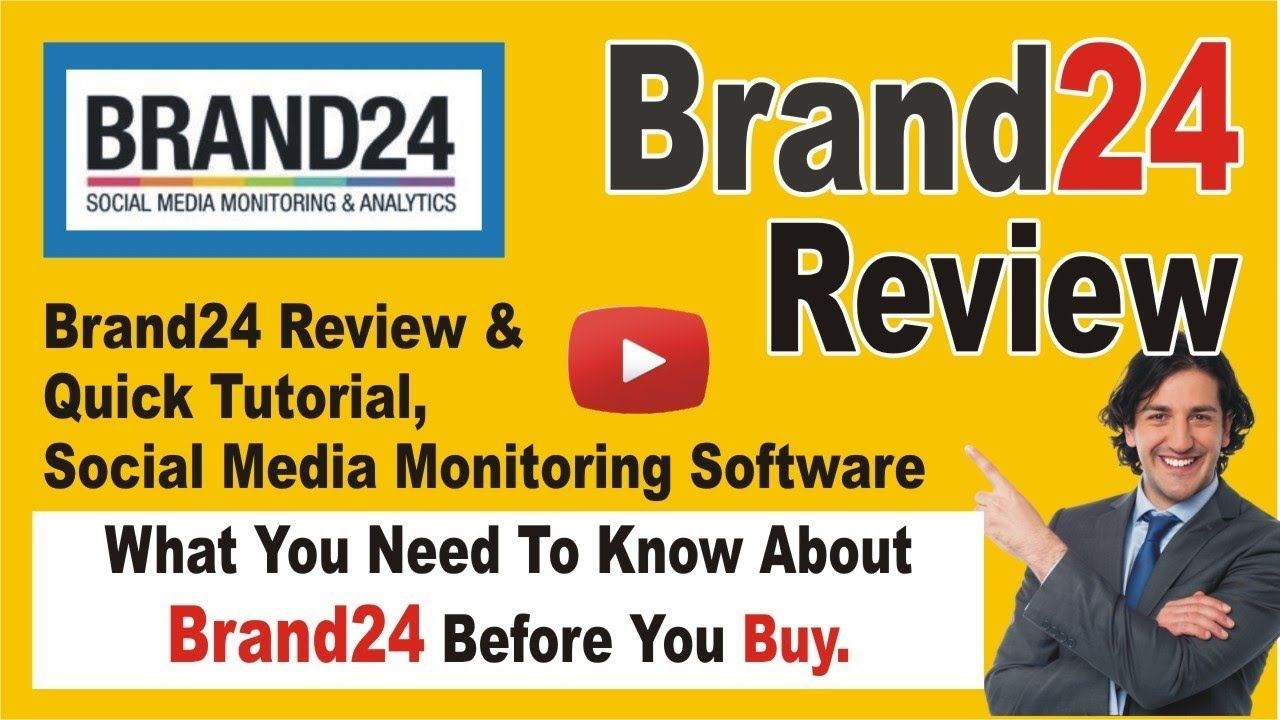 Brand24 Review Quick Tutorial Social Media Monitoring Software