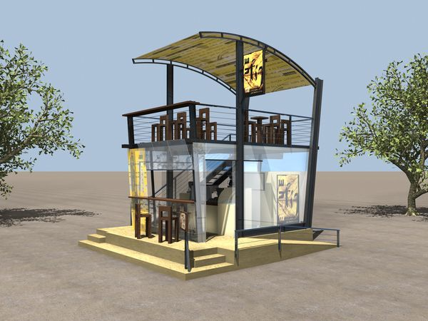 outdoor kiosk design google search exhibition design