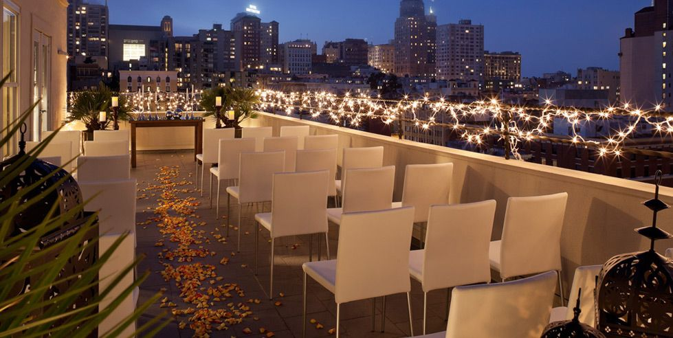 Beautiful Outdoor Wedding Ceremony At Tribeca Rooftop: Rooftop Wedding Reception - Google Search