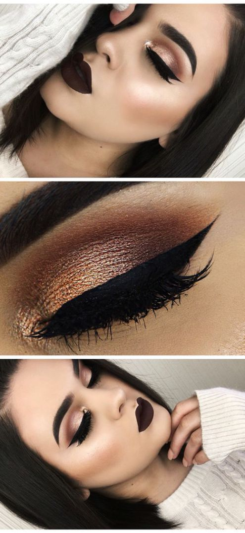 10 Hottest Eye Makeup Looks – Makeup Trends   Ideas de maquillaje ...