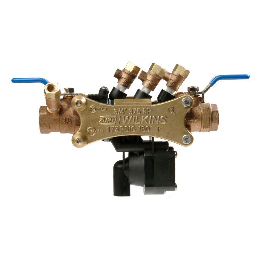 Wilkins 375xl Brass Fip 3 4 In Backflow Preventer 34 375xl In 2020 Equipment Trailers For Sale Repair Brass