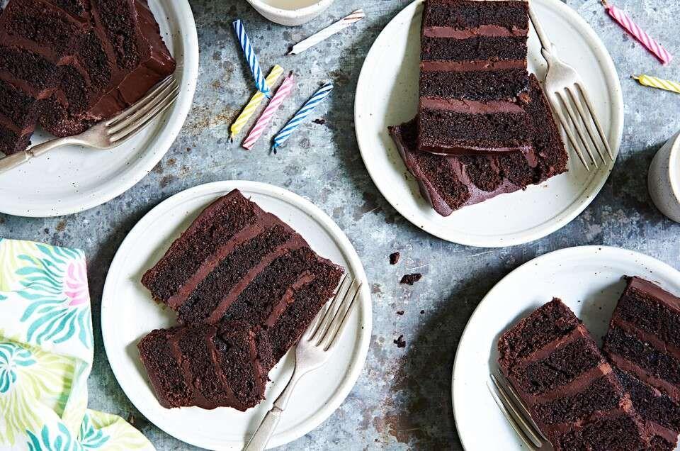 Favorite Fudge Birthday Cake Recipe Cake Recipes Fudge King Arthur Flour Recipes