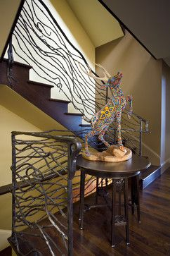 Fresh Balcony Staircase Design