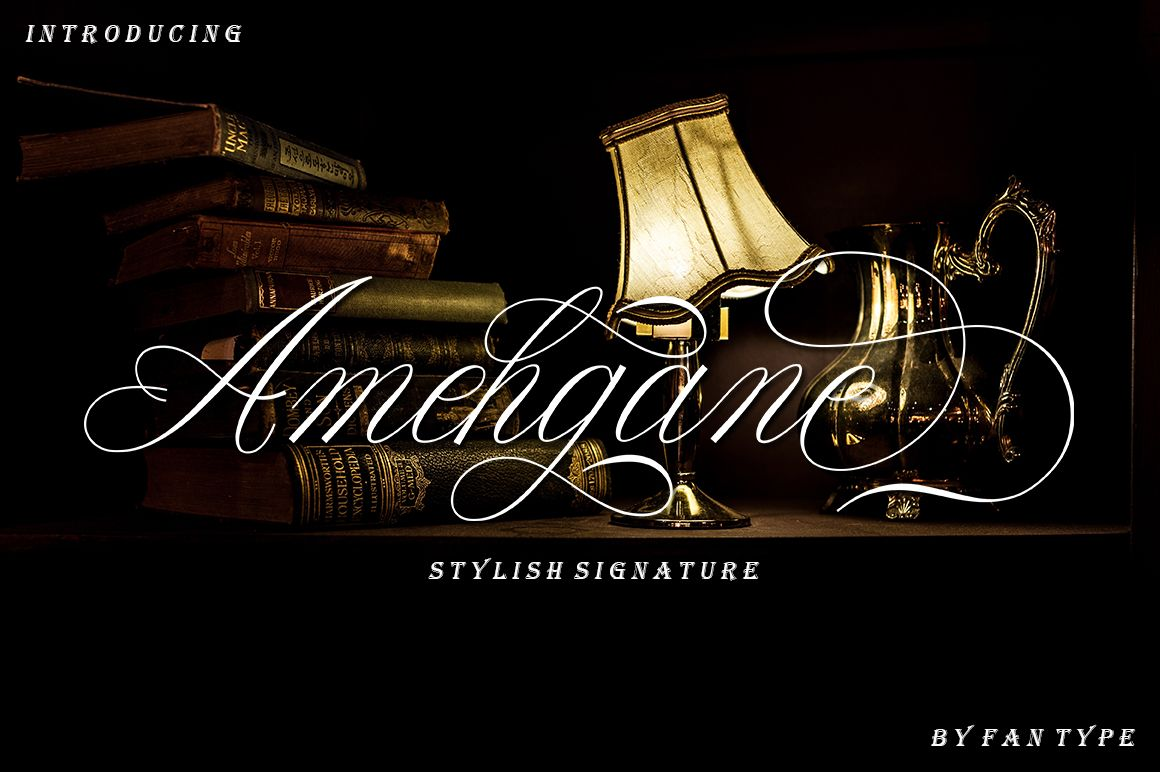Anehgane Font By Fan Type Creative Fabrica Swash Wedding Fonts Premium Fonts