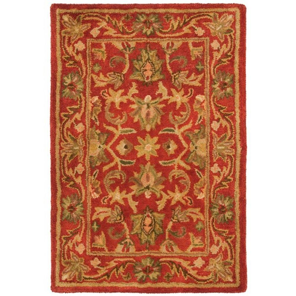Safavieh Antiquity Red 2 ft. x 3 ft. Area RugAT52E2