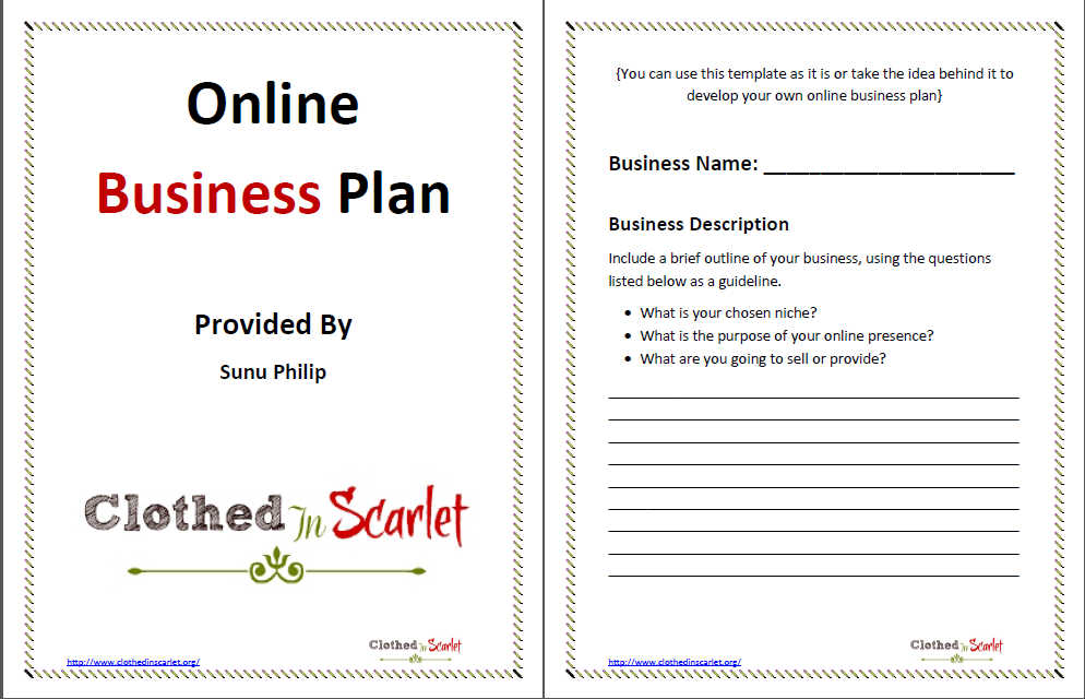 Really Free Business Plan Download 100 No Sign Up Crowd